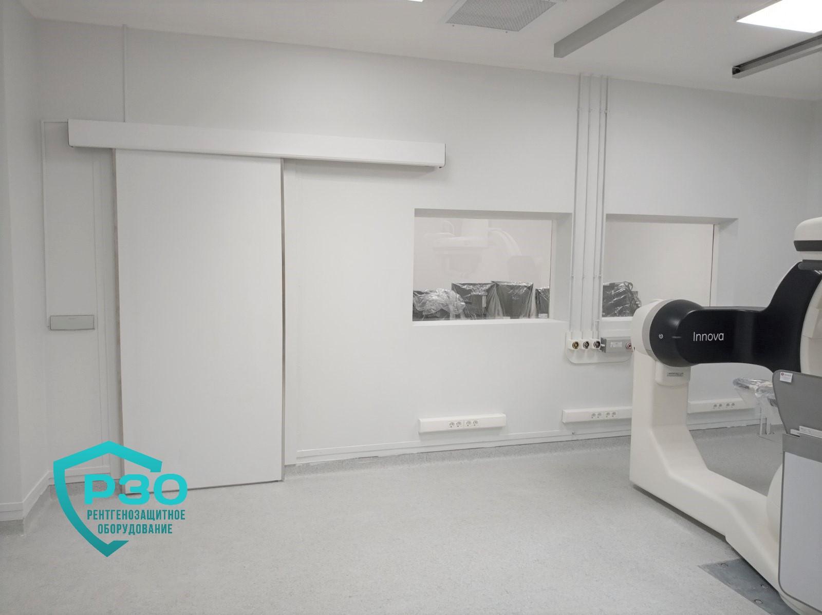 Двери автоматические рентгенозащитные