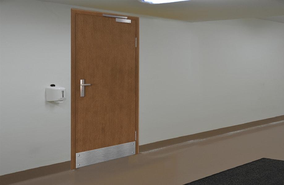 Комбинированные рентгенозащитные двери
